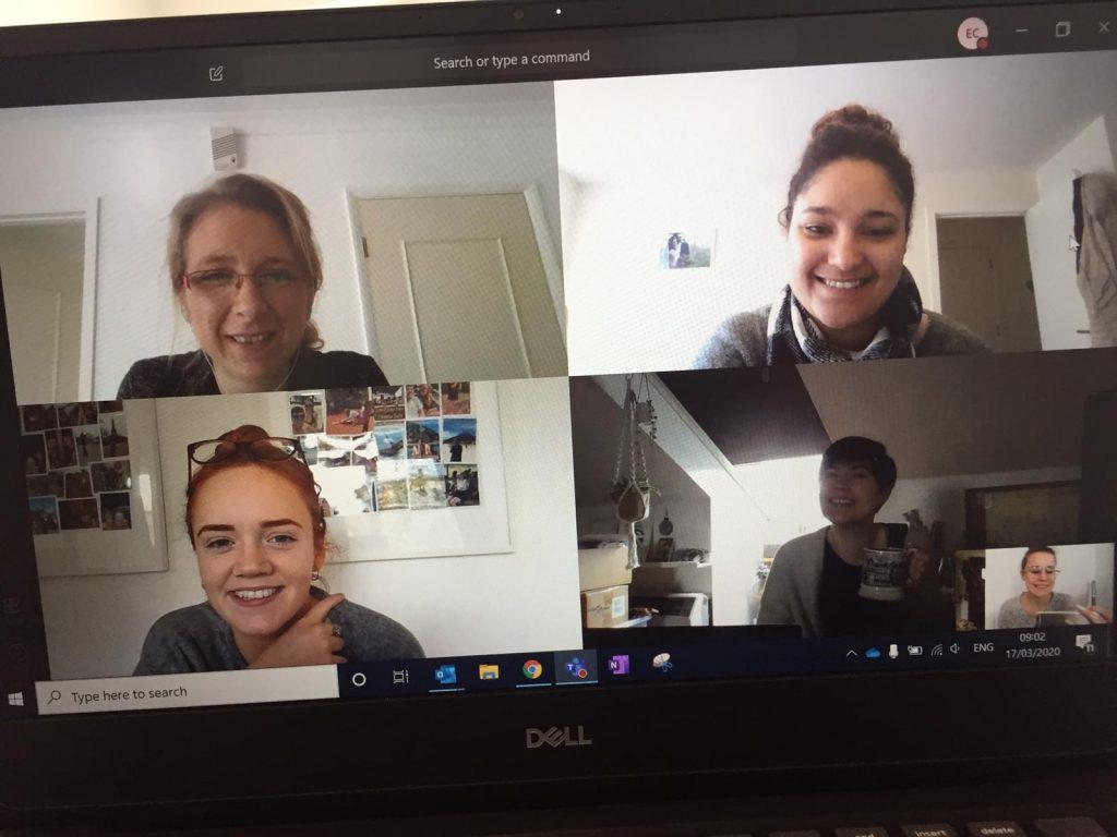 Covid You HR virtual meeting