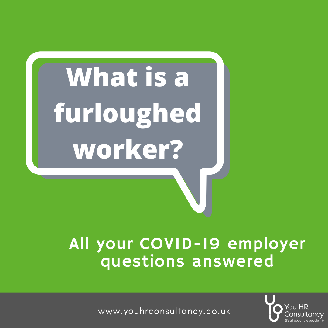 What is a furloughed worker