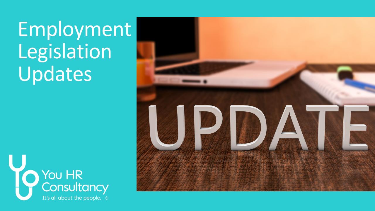 Employment legislation updates