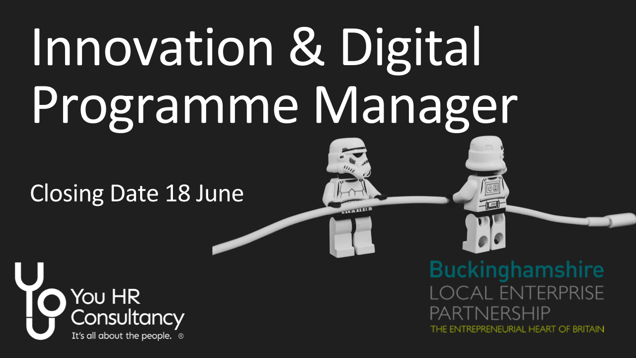 Innovation & Digital Programme Manager Vacancy